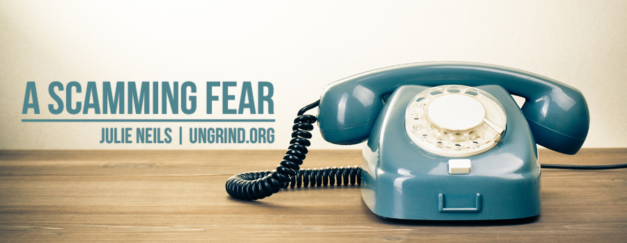 A Scamming Fear