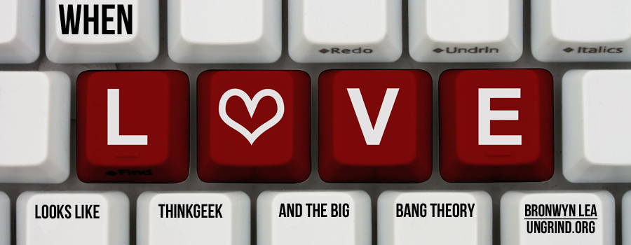 When Love Looks Like ThinkGeek and The Big Bang Theory