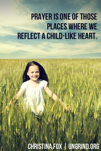 Pray Like a Child