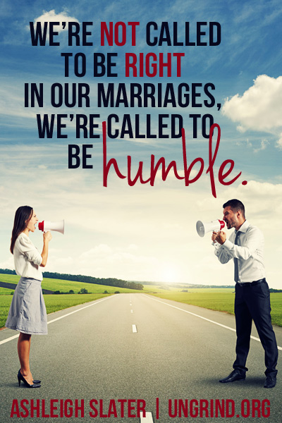 Who Is Always Right in Your Marriage?