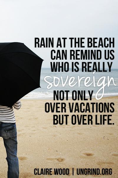 When It Rains at the Beach