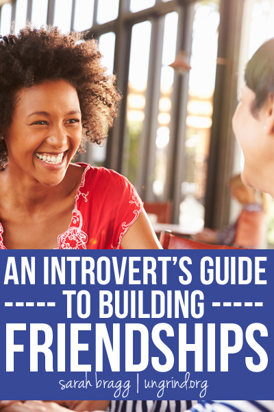 An Introvert's Guide to Building Friendships