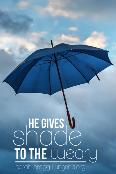 He Gives Shade to the Weary