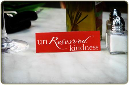 unreserved-kindness